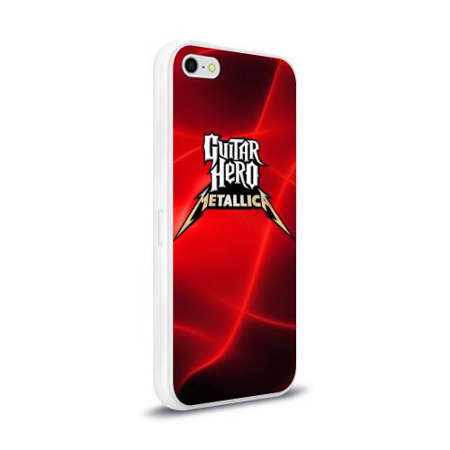 Чехол для Apple iPhone 5/5S силиконовый глянцевый  Фото 02, Guitar Hero Metallica