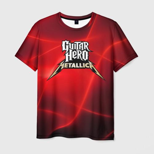 Мужская футболка 3D  Фото 03, Guitar Hero Metallica