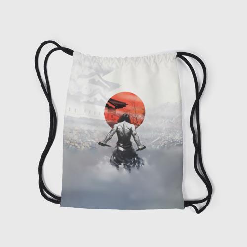 Рюкзак-мешок 3D  Фото 05, Японский самурай