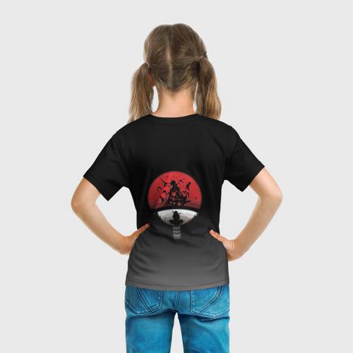 Детская футболка 3D  Фото 04, Itachi Clan Uchiha (на спине)
