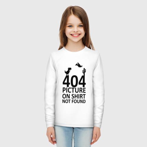 Детский лонгслив хлопок 404 not found Фото 01