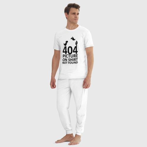 Мужская пижама хлопок 404 not found Фото 01