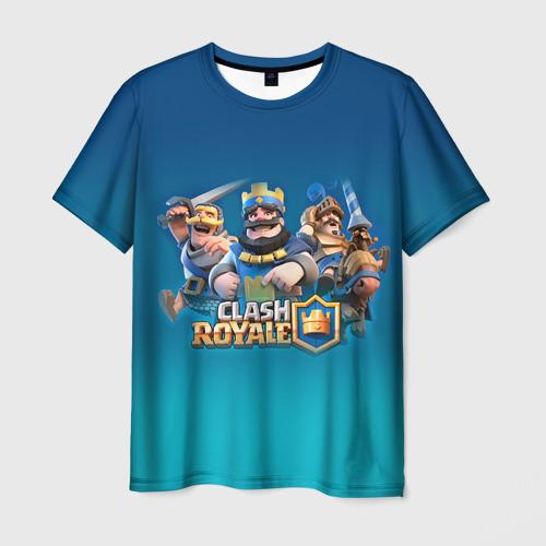 Мужская футболка 3D  Фото 03, Clash of royale