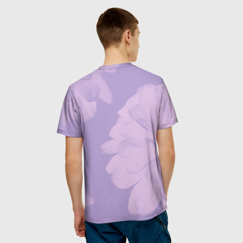 Мужская футболка 3D  Фото 02, Балерина