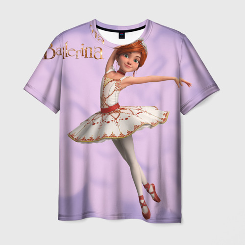 Мужская футболка 3D  Фото 03, Балерина