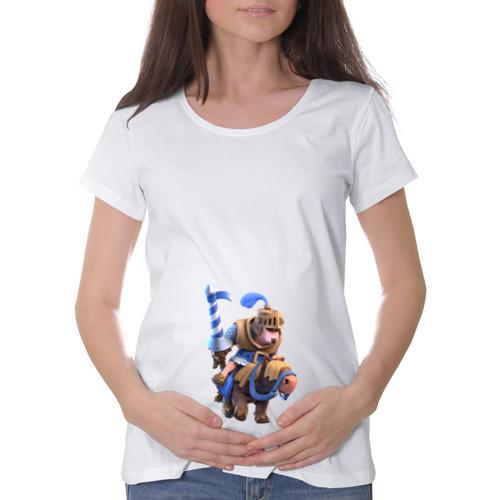 Футболка для беременных хлопок Clash of clans