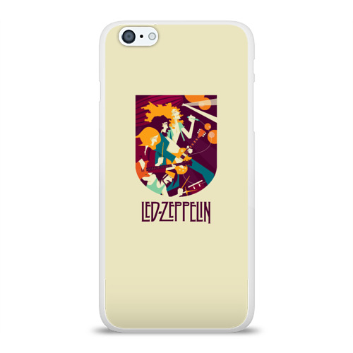 Чехол для Apple iPhone 6Plus/6SPlus силиконовый глянцевый  Фото 01, Led Zeppelin Art