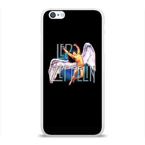 Чехол для Apple iPhone 6Plus/6SPlus силиконовый глянцевый  Фото 01, Led Zeppelin Angel