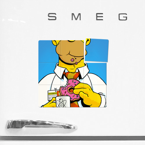 Магнитный плакат 3Х3  Фото 02, Homer