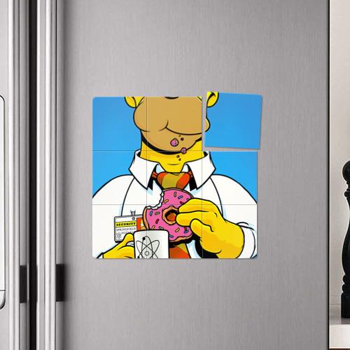 Магнитный плакат 3Х3  Фото 04, Homer