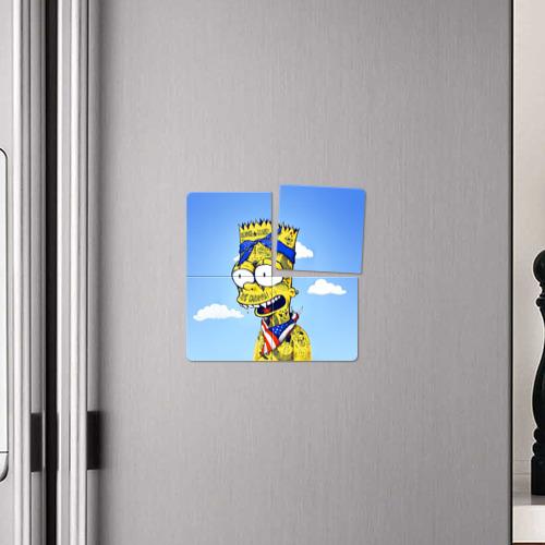 Магнитный плакат 2Х2  Фото 04, Aye` Caramba!