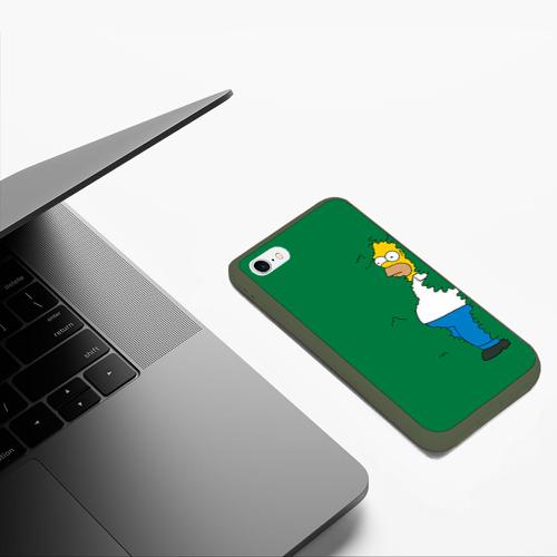 Чехол для iPhone 6/6S матовый Green Фото 01
