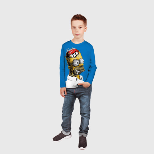 Детский лонгслив 3D  Фото 05, Duffff
