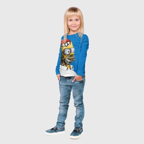 Детский лонгслив 3D  Фото 04, Duffff