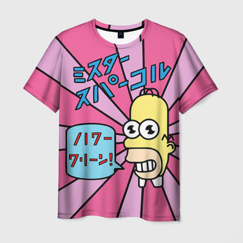 Мужская футболка 3D  Фото 03, /|7!