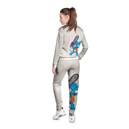 Женская олимпийка 3D  Фото 04, Itchy & Scratchy