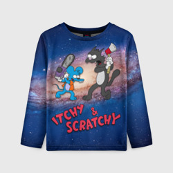 Itchy & Scratchy space