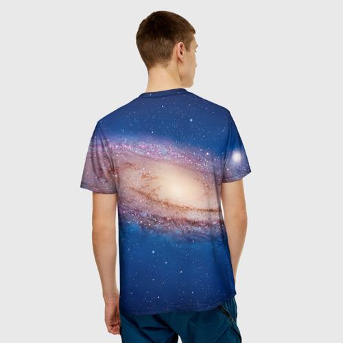 Мужская футболка 3D  Фото 02, Itchy & Scratchy space