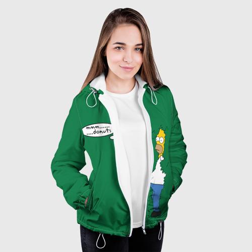 Женская куртка 3D  Фото 04, mmm... donuts