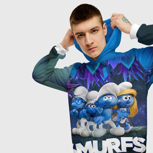 Мужская толстовка 3D  Фото 01, The Smurfs