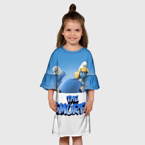 Детское платье 3D  Фото 01, The Smurfs