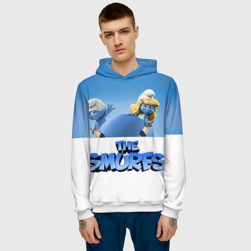 Мужская толстовка 3D  Фото 03, The Smurfs