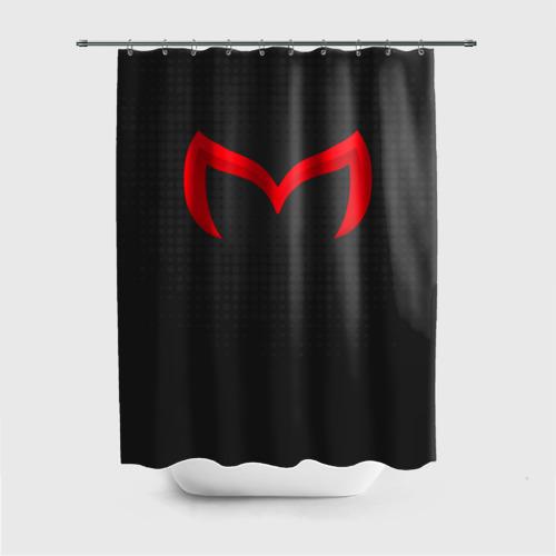 Штора 3D для ванной  Фото 01, New Mazda
