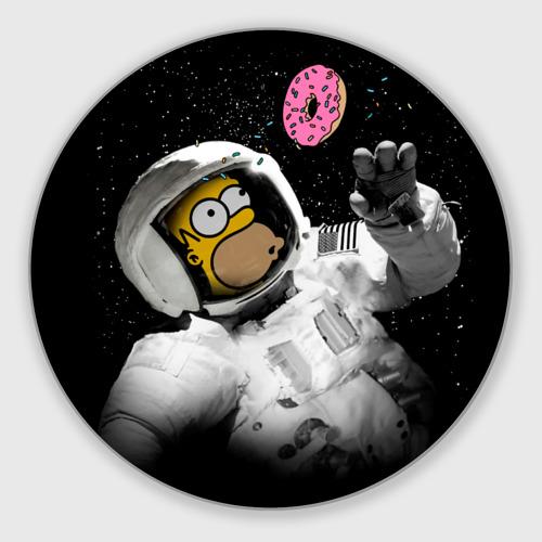 Коврик для мышки круглый  Фото 01, Гомер в космосе