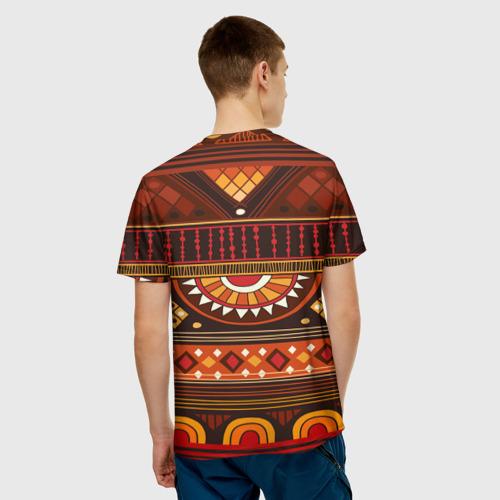 Мужская футболка 3D  Фото 02, Узорная этника
