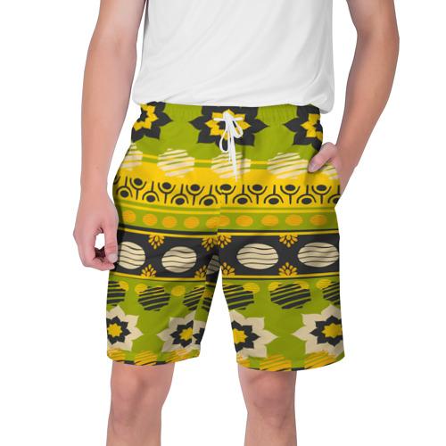 Мужские шорты 3D  Фото 01, Узорный орнамент