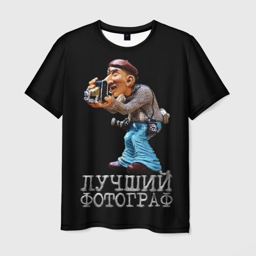 Мужская футболка 3D  Фото 01, Лучший фотограф