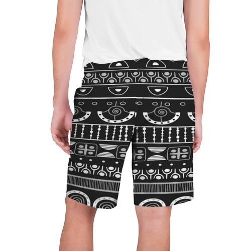 Мужские шорты 3D  Фото 02, Black and White ethnic
