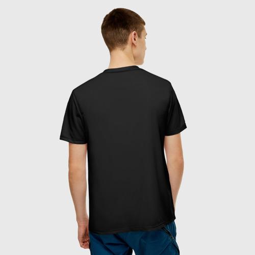 Мужская футболка 3D Кот в матрице Фото 01