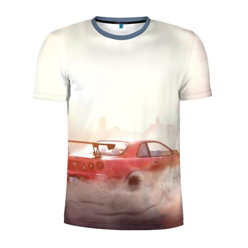Мужская футболка 3D спортивная Need for Speed Payback 2017 Фото 01