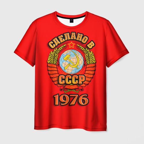 Мужская футболка 3D  Фото 01, Сделано в 1976