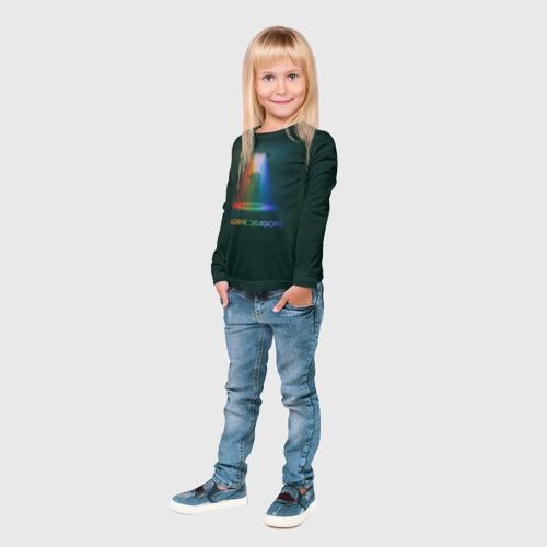 Детский лонгслив 3D  Фото 04, Imagine Dragons Light