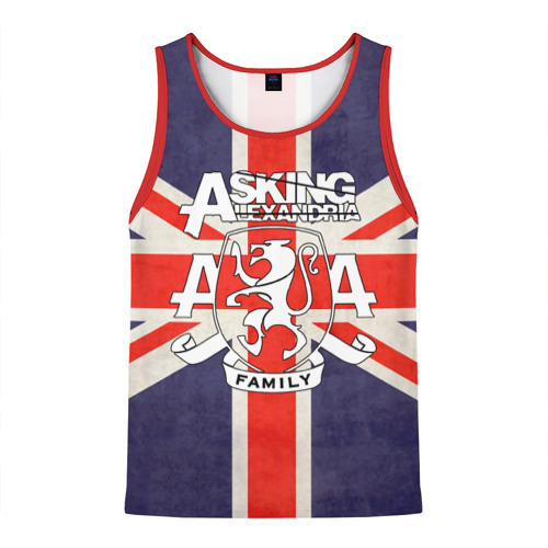 Asking Alexandria флаг Англии