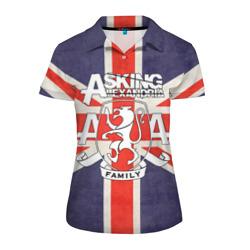 Asking Alexandria флаг Англии