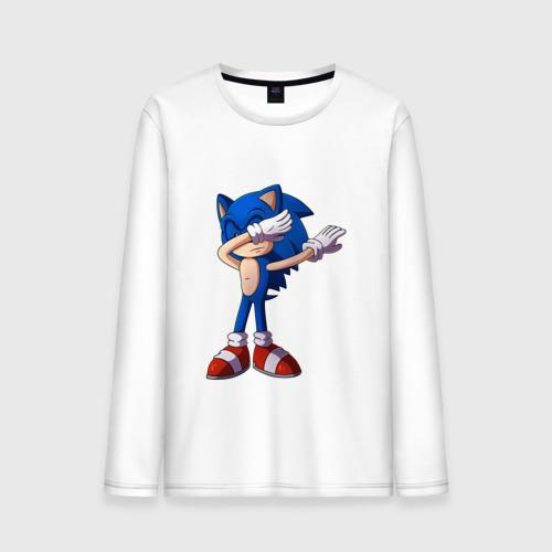 Мужской лонгслив хлопок Sonic dab