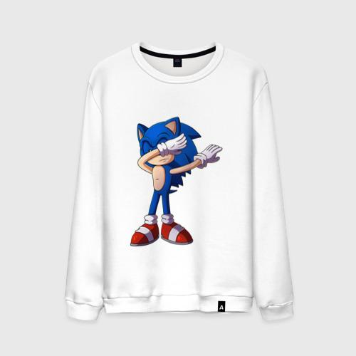 Мужской свитшот хлопок Sonic dab