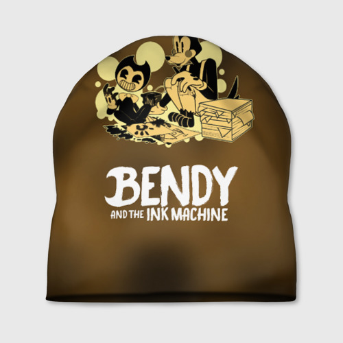 Шапка 3D Bendy and the ink machine