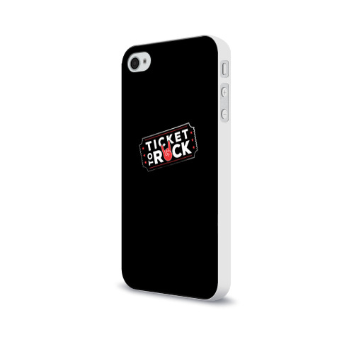 Чехол для Apple iPhone 4/4S soft-touch  Фото 03, Ticket to Rock