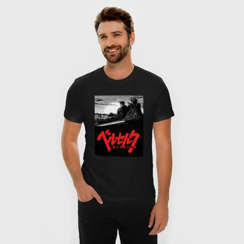 """Премиум футболка """"Берсерк"""" фото 1"""
