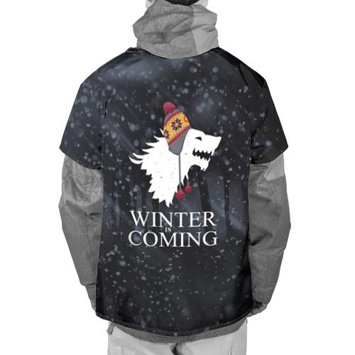 Накидка на куртку 3D  Фото 02, Зима близко