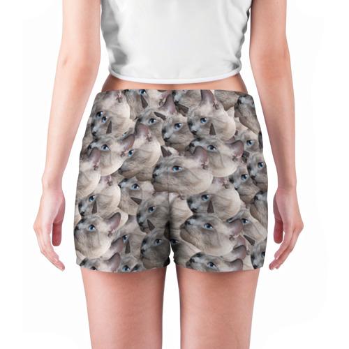 Женские шорты 3D  Фото 04, Котики