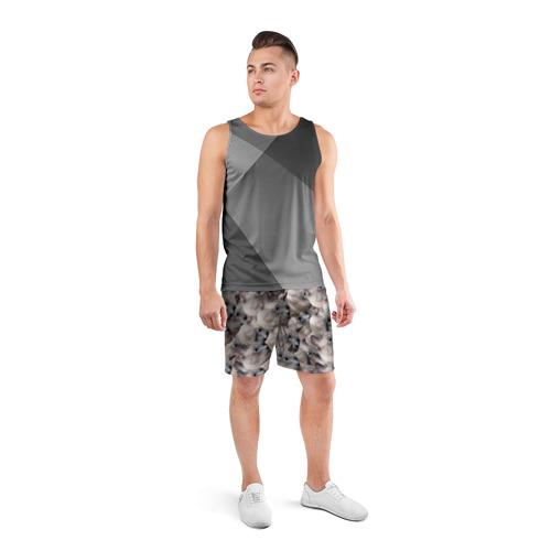 Мужские шорты 3D спортивные  Фото 04, Котики