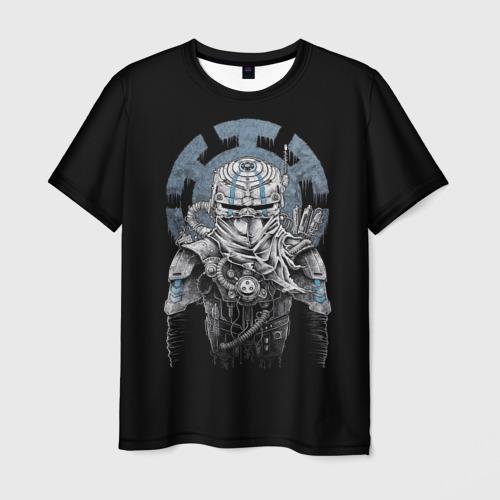Мужская футболка 3D  Фото 03, Киборг Ниндзя