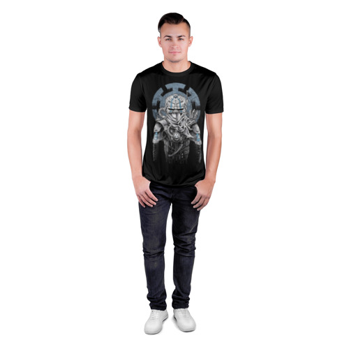Мужская футболка 3D спортивная  Фото 04, Киборг Ниндзя