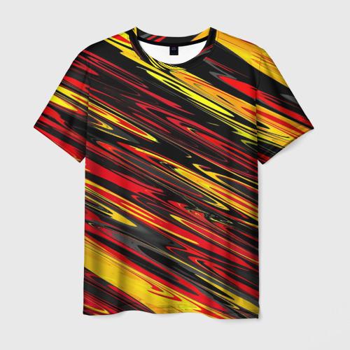 Мужская футболка 3D  Фото 03, Темные полоски