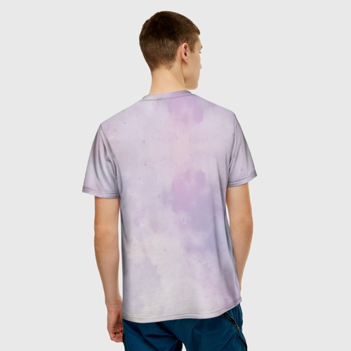 Мужская футболка 3D  Фото 02, Улыбайся